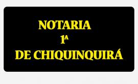 NOTARIA PRIMERA DE CHIQUINQUIRÁ