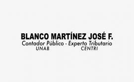 Blanco Martínez José