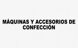 Máquinas y Accesorios de Confección