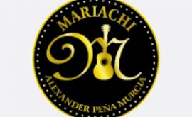 Alexander Peña con el mariachi Nuevo Jalisco